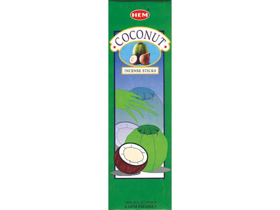 Coconut Hem Incense 25x8g